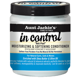 Aunt Jackie's In Control Anti-Poof Moisturizing & Softening Conditioner 426gr