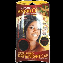 Touca de cetim Argan Oil Super Jumbo Magic Collection