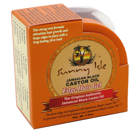 Sunny Isle Jamaican Black Castor Oil Edge Hair Gel 100ml