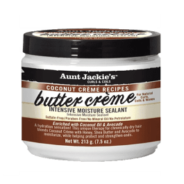 Aunt Jackie's Coconut Creme Recipes Butter Creme Intensive Moisture Sealant 213gr