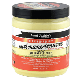 Aunt Jackie's Flaxseed Recipes Curl Mane-Tenance Defining Curl Whip 426gr