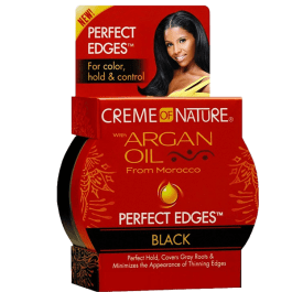 Creme of Nature Argan Oil Perfect Edges Black 64gr