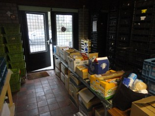 Producten voor de voedselbank