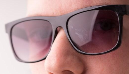 Sunglassesを掛けたほうがいいと思う