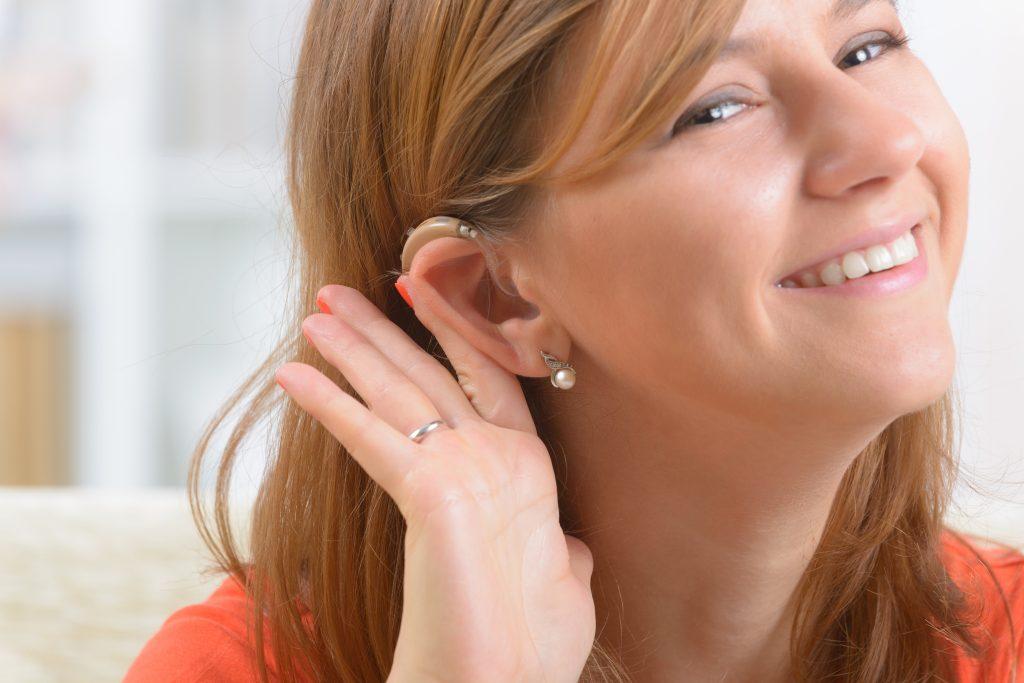 girl hearing