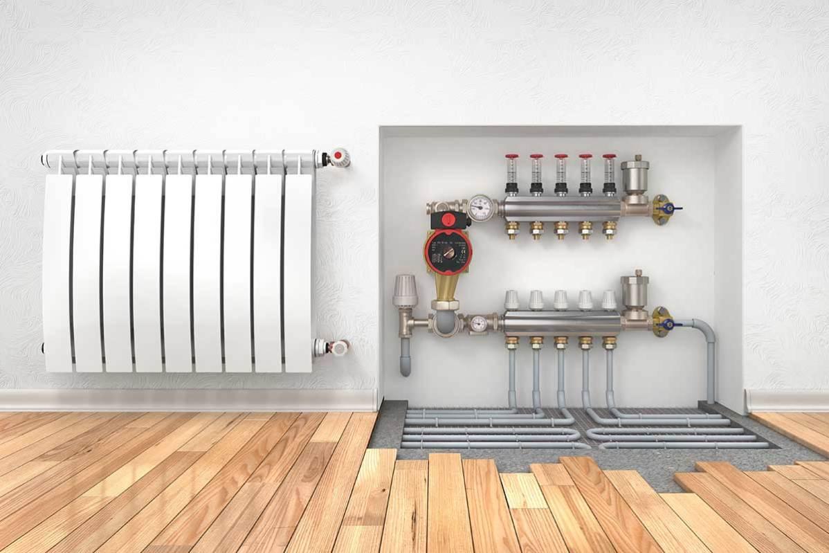 Come gestire un impianto di riscaldamento a pavimento forim