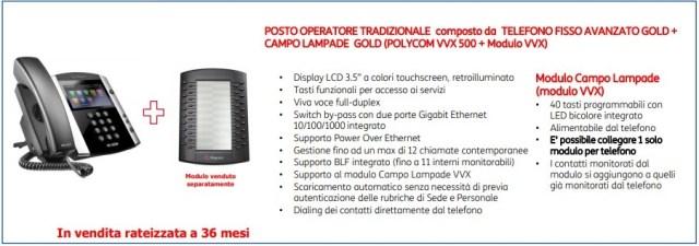 Centralino NICI - Posto operatore Gold Corded