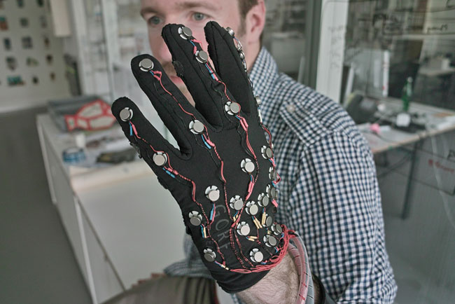 Glove That Helps Deaf Blind People Communicate Assistive