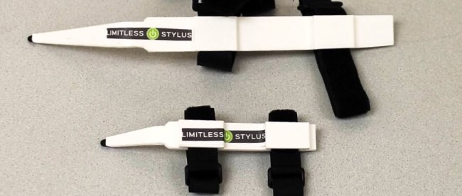 a photo of limitless stylus in different sizes