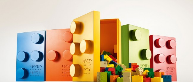 photo of lego bricks