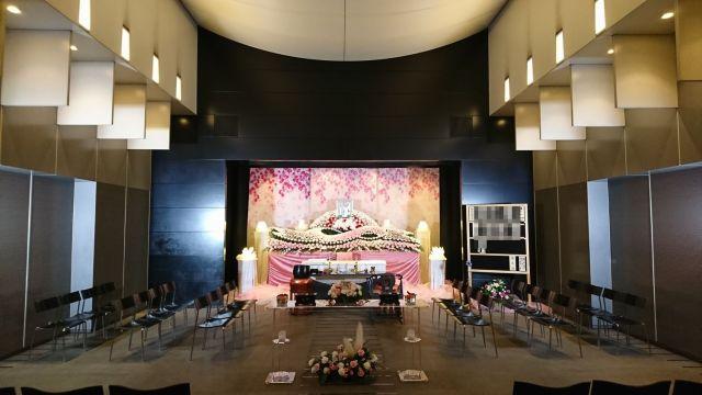 横浜市北部斎場・祭壇・MOTER1