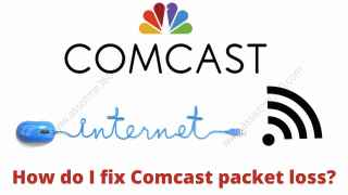 How do I fix comcast packet lost