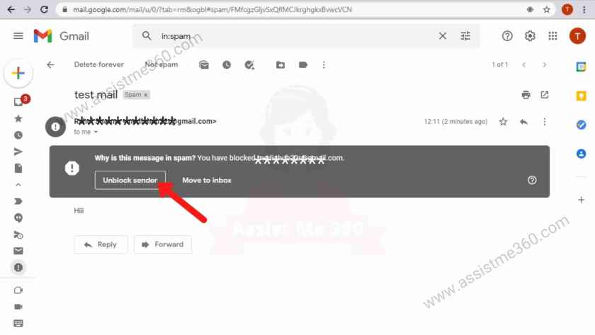 How to unblock someone on gmail (2)