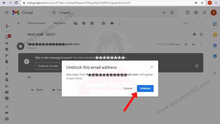 How to unblock someone on gmail (3)