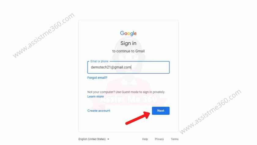 Login gmail as a different user (2)