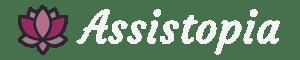 Assistopia logo - white text for retina devices version