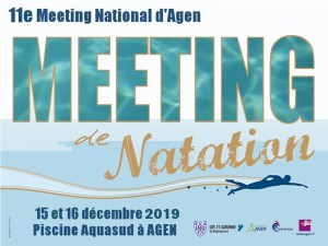 11e Meeting National d'Agen - 50 m @ Agen Piscine Aqua'Sud | Agen | Aquitaine | France