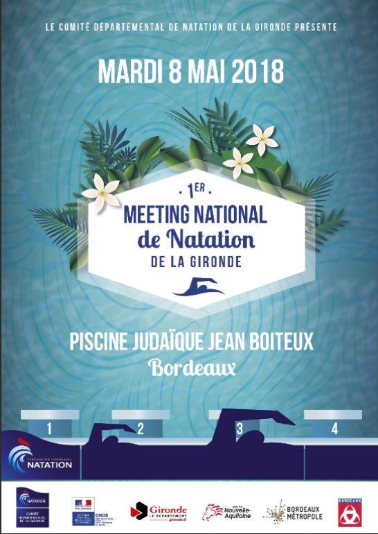 Meeting National Maitres Gironde Assm Natation