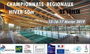 Championnats Régionaux hiver 50m @ ST YRIEIX