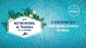 2ème Meeting National des Maîtres - 50m @ Piscine Judaïque - Jean Boiteux
