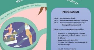 Programme de la nuit de l'eau 2019