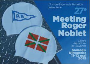 27e MEETING ROGER NOBLET @ Centre aquatique des Hauts de Bayonne