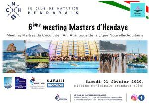 6ème MEETING MASTERS D'HENDAYE @ piscine municipale Irandatz (25m)
