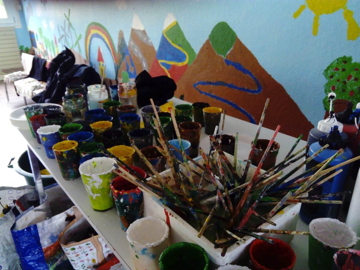 Ateliers fresques en école primaire