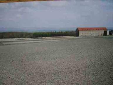 La place d'appel de Buchenwald