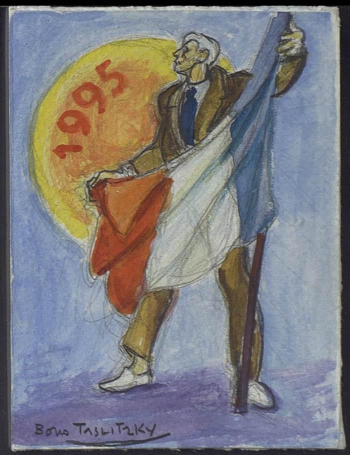 B. Taslitzky-carte adhérent 1995