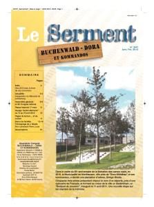 SERMENT N°341 - janvier fevrier 2012
