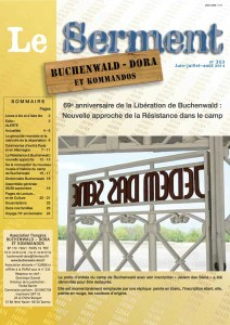 SERMENT N°353 - juin juillet aout 2014