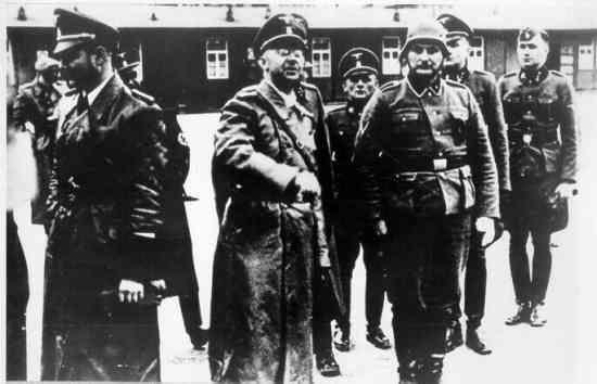 Himmler à Buchenwald
