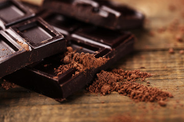 Le chocolat noir : la star des placards de ceux qui modifient leur Cadre De Vie !
