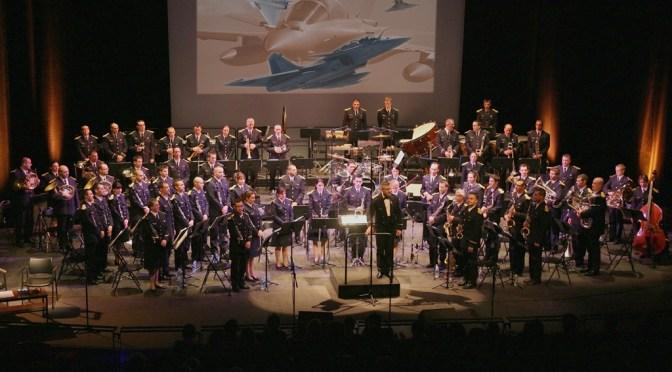 Concert exceptionnel de la Musique des Forces Aériennes Bordeaux, 23 Oct 2015