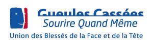 Logo de Les Gueules Cassées - Union des Blessés de la Face et de la Tête - Sourire quand même