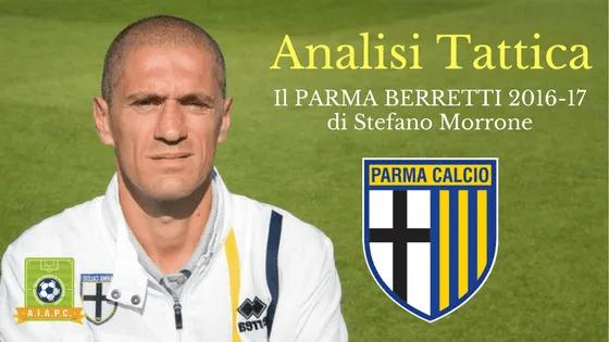 Analisi Tattica: il Parma Berretti 2016-17 di Stefano Morrone