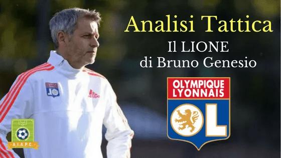 Analisi Tattica: il Lione di Bruno Genesio