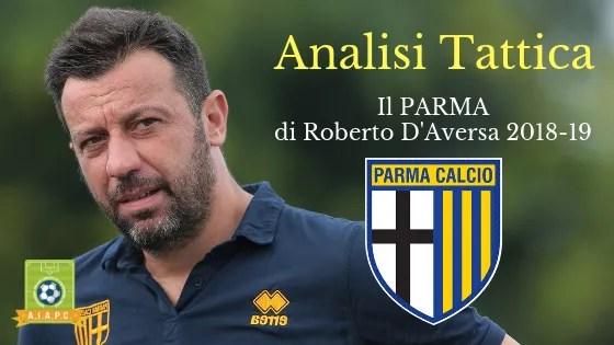Analisi Tattica: il Parma di Roberto D'Aversa 2018-19