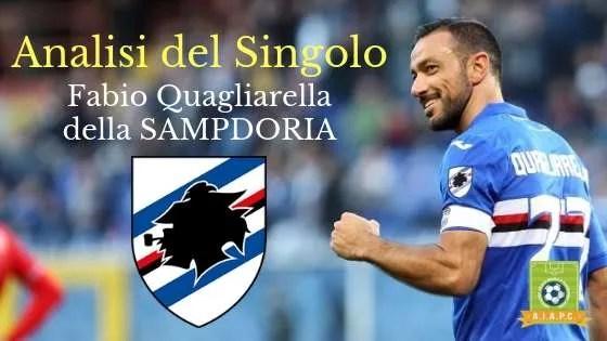 Analisi del Singolo: Fabio Quagliarella della Sampdoria
