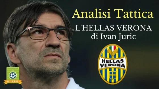 Analisi Tattica: l'Hellas Verona di Ivan Juric