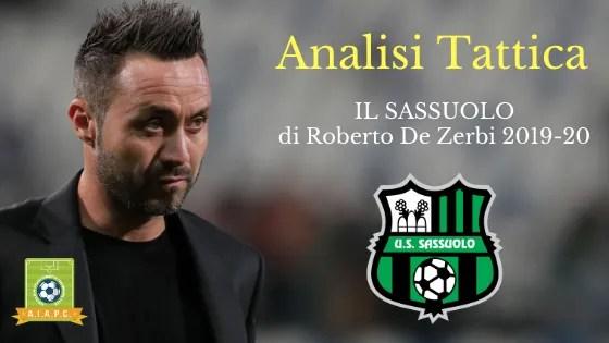 Analisi Tattica: il Sassuolo di Roberto De Zerbi 2019-20