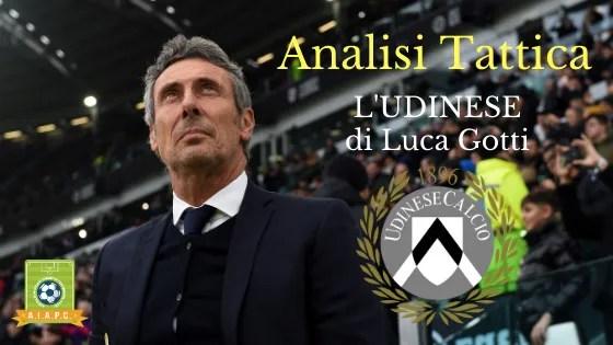 Analisi Tattica: l'Udinese di Luca Gotti