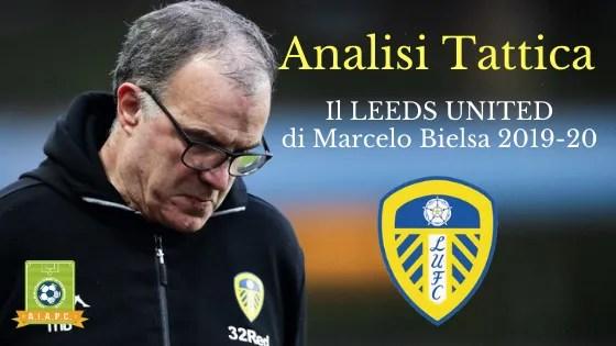 Analisi Tattica: il Leeds United di Marcelo Bielsa 2019-20