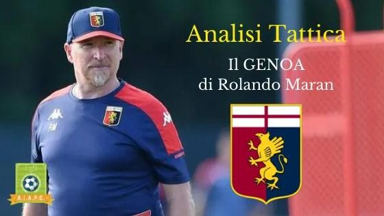 Analisi Tattica: il Genoa di Rolando Maran