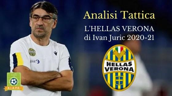 Analisi Tattica: l'Hellas Verona di Ivan Juric 2020-21