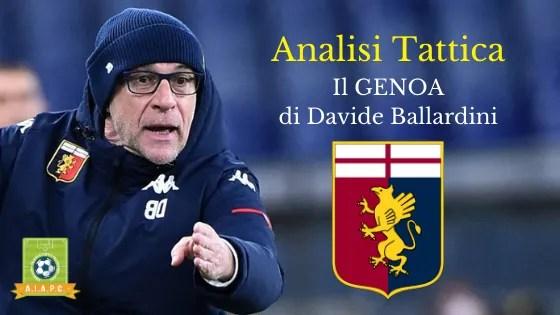 Analisi Tattica: il Genoa di Davide Ballardini