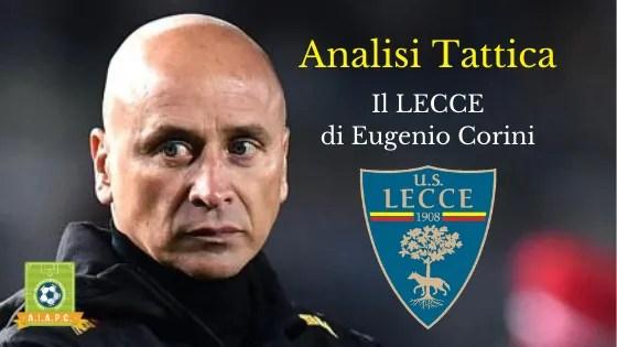 Analisi Tattica: il Lecce di Eugenio Corini