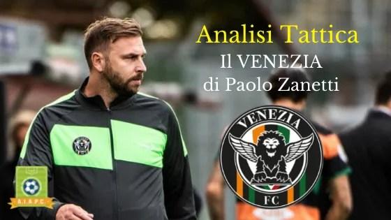 Analisi Tattica: il Venezia di Paolo Zanetti