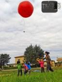 De la photo aérienne avec un ballon !